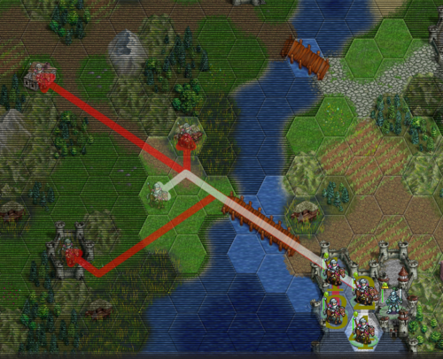 How to deal with overlapping paths.