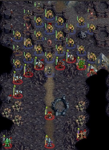 wesnoth - NR - Clearing the Mines - turn 30 - stalemating the ghouls.jpg
