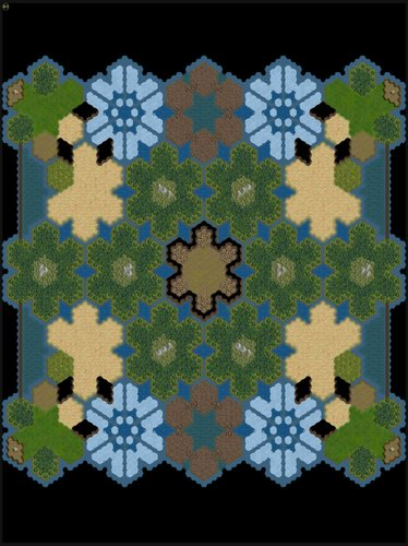 Snowflakes - A large map where you expand outward one block at a time.