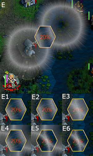 What it may look if there are 2 illuminates effects
